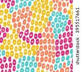 seamless color pattern. vector... | Shutterstock .eps vector #395517661