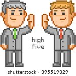 Pixel People And Friendly High...