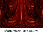 abstract background red bokeh... | Shutterstock . vector #395530891