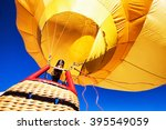 new hot air balloon - photo - stock photo
