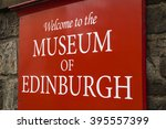 a welcome sign outside the... | Shutterstock . vector #395557399