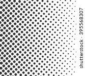 gray stock vector halftone dots ... | Shutterstock .eps vector #395568307