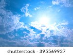 sunny day | Shutterstock . vector #395569927