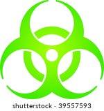 bio hazard | Shutterstock .eps vector #39557593