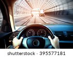 driving a car   first person... | Shutterstock . vector #395577181