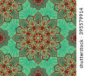 seamless  eastern pattern of... | Shutterstock .eps vector #395579914