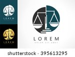 scale of justice logo | Shutterstock .eps vector #395613295