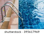 into the pool | Shutterstock . vector #395617969