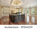 kitchen with eating area | Shutterstock . vector #39564259