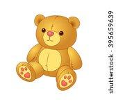 teddy bear | Shutterstock .eps vector #395659639