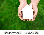 time to buy real estate  the... | Shutterstock . vector #395669551