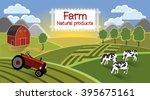 farm flat landscape. in the...