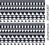 ethnic geometric pattern | Shutterstock .eps vector #395691307