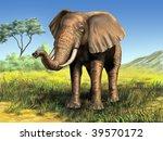 Wildlife  Elephant In Its...