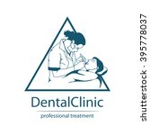 dental logo | Shutterstock .eps vector #395778037