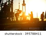 oil drilling exploration  the... | Shutterstock . vector #395788411