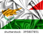 waving flag of hungary and... | Shutterstock . vector #395807851