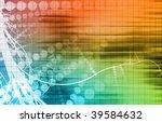 futuristic background in web... | Shutterstock . vector #39584632