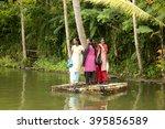 alleppey  kerala  india  ... | Shutterstock . vector #395856589