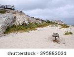 Coastal Limestone Cliffs And...