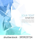 color abstract geometric... | Shutterstock . vector #395925724