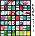 mega brochure set | Shutterstock .eps vector #395947555