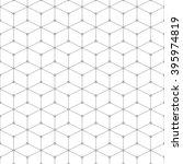 hexagonal grid design vector... | Shutterstock .eps vector #395974819
