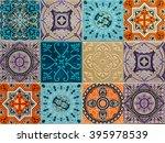 Colorful Ornament Ceramic Tile...
