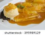 crepe suzette | Shutterstock . vector #395989129