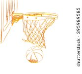 scoring the winning points at a ... | Shutterstock . vector #395989585
