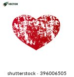 grunge heart | Shutterstock .eps vector #396006505