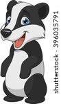 vector illustration  baby funny ... | Shutterstock .eps vector #396035791
