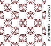 interlacing patterns. pixel... | Shutterstock .eps vector #396054325