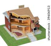 house design - stock photo
