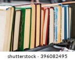 Many Old Books In A Book Shop...