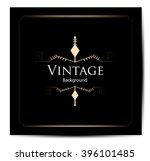vintage background  antique ... | Shutterstock .eps vector #396101485