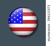 united state of america flag on ...