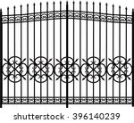Vector Modern Forged Gates