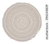 collection of tree rings vector ... | Shutterstock .eps vector #396143839