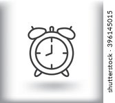 time clock icon vector.
