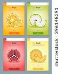 colorful fruits banner for app...