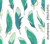 seamless pattern with colored... | Shutterstock .eps vector #396151951