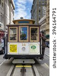 Small photo of San Francisco ( USA ) 08/28/2012: cable cars in San Francisco are a symbol of the city known allover the world and an important main of transport for tourists and citizens.