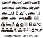automobile accident. traffic...   Shutterstock .eps vector #396193681