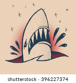 Shark Traditional Tattoo