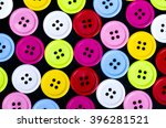 sewing buttons  plastic buttons ... | Shutterstock . vector #396281521