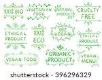 hand drawn vector elements... | Shutterstock .eps vector #396296329