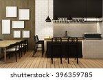 coffee shop frame mock up  ... | Shutterstock . vector #396359785