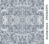ornament round mandala....   Shutterstock . vector #396364591