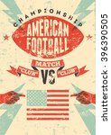 American Football Typographica...